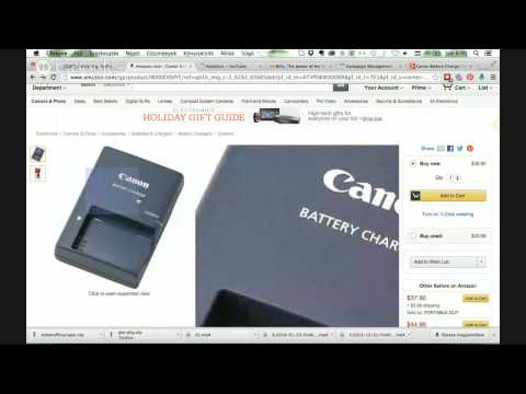 Canon Battery Charger CB-2LX Review (Now 22% OFF)