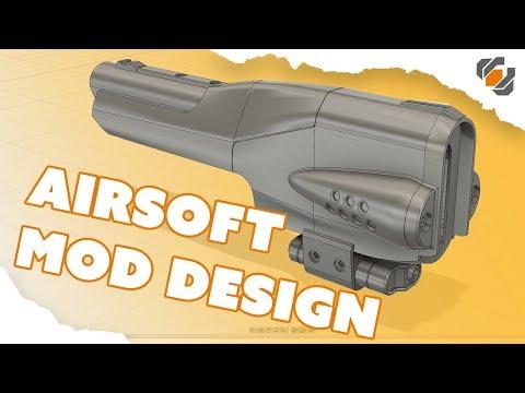 Airsoft Cosmetic Mod Walk Through - Destiny Sidearm Project