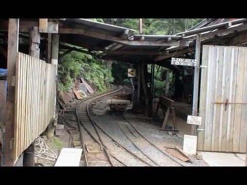 Driving Creek Railway - Coromandel Peninsula - New Zealand.
