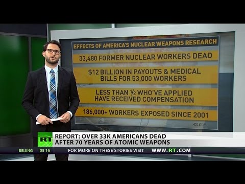 Nearly 33,500 former nuclear site workers died due to radiation exposure- report