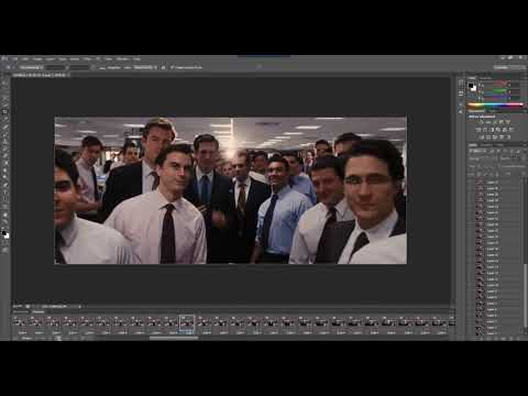 How to create GIF animation from movie video clip with Photoshop CS6