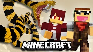 PARKOUR ULAR !!! | Parkour Map | Minecraft Indonesia