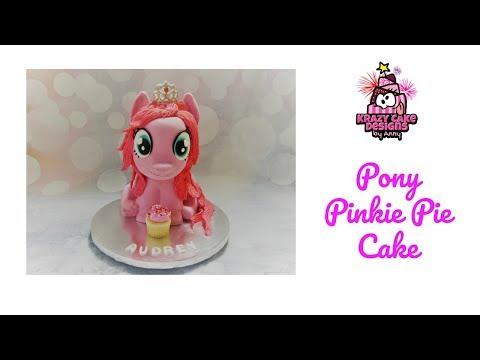 Pony pinkie pie cake