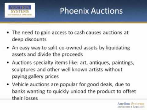 Phoenix Auctions: Why You can Score a Bargain at a Local Auction