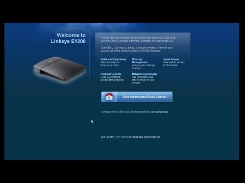 How to upgrade Cisco Linksys routers framework. And change username and password