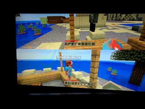 Minecraft. Lets build ep 1 tiki bar!!!!!!