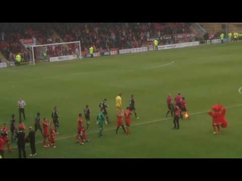 The build up to Leyton Orient Vs Colchester United 29/04/17. Last home game in the Football League.