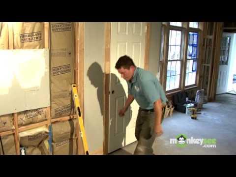 Build a Closet - Installing the Door