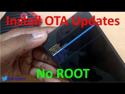 How to Install OTA Updates and Flash ROM without ROOT using recovery and adb sideload