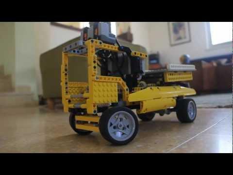 Lego Technic Scissors Lift Truck MOC