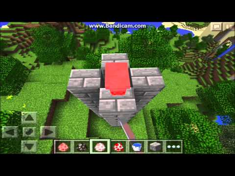 Minecraft PE | How To Make A Animal Cannon\Firework | Tutorial