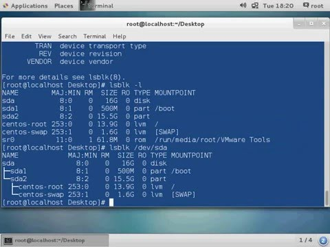 CentOS 7 Tutorial - How to check Boot Partition in Linux