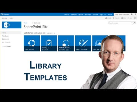 SharePoint 2013 Document Library Templates