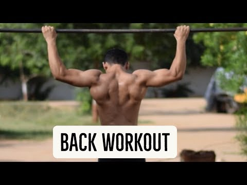 Back Workout at Home Without Weights - Bodyweight Back Workout in Hindi