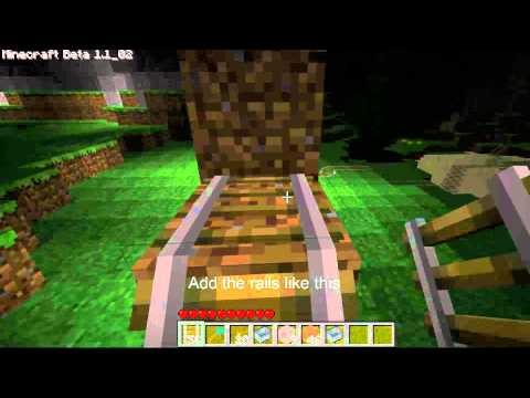 Minecraft Quick Guide: How To Make A Minecart Booster