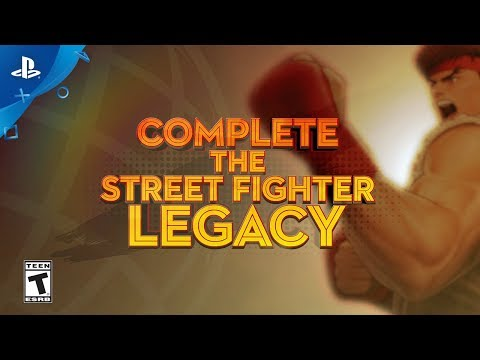 Street Fighter 30th Anniversary Collection – Ultra SFIV Pre-Order Trailer | PS4