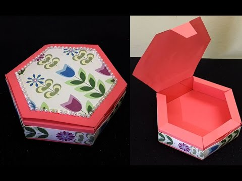 DIY Small Handmade Gift Box : How to Make Cute Small Candy or Jewelery Box | DIY Christmas Crafts