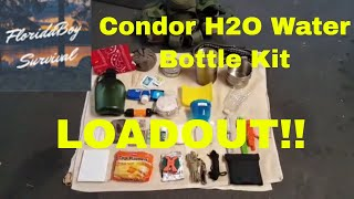 Condor H2O Water Bottle Kit - LOADOUT!!
