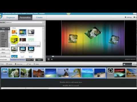 Wondershare dvd slideshow builder deluxe 6. 0 example video dvd.