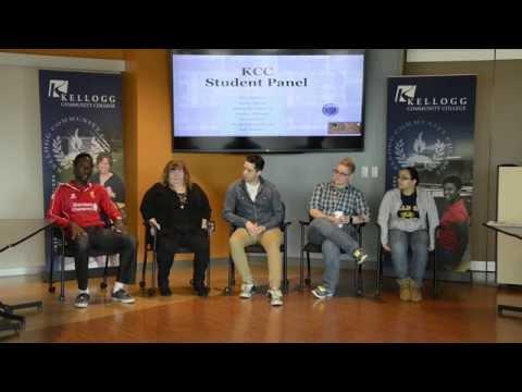 Kellogg Community College student panel