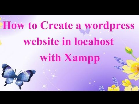 How to Create a wordpress website in localhost with Xampp