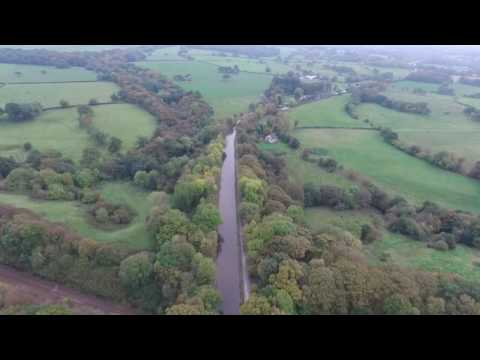 Hunting for Autumn Colours with a Drone  DJI Phantom 3
