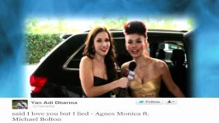 AGNES MONICA at the American Music Awards