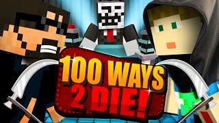 Minecraft: 100 WAYS TO DIE CHALLENGE - CRAINER DECIDES MY FATE!!