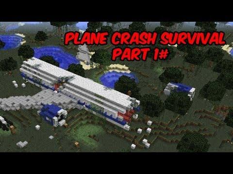 Minecraft xbox 360 plane crash survival part 1
