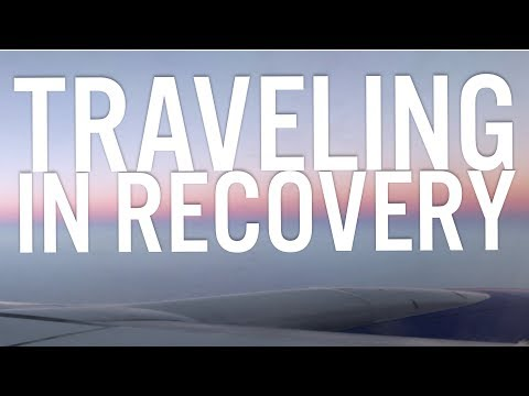 Traveling in Recovery + Vegan Airplane Food