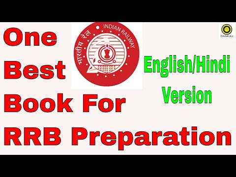 RRB Preparation : Best Book (English & Hindi Version) 2018 Edition