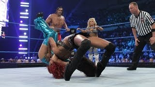 Six-Person Mixed Tag Team Match: SmackDown - April 10, 2012