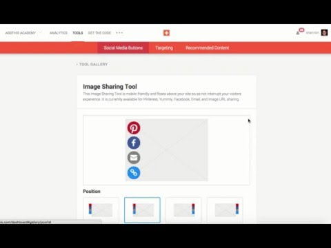 How to Add Image Sharing Buttons to Your Website