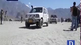Desert rally in Skardu