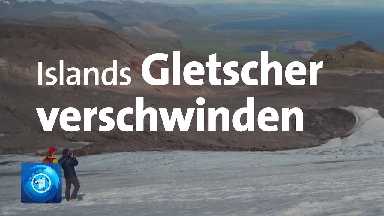 Folgen des Klimawandels: Islands Gletscher schmelzen