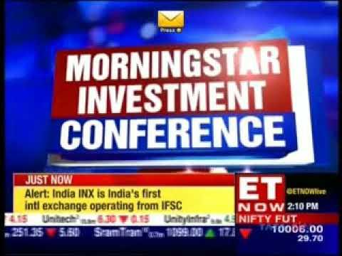 ET Now Riding The Bull 11 Oct 2017 Sohini Andani - SBI MF - Morningstar Investment Conf 2017