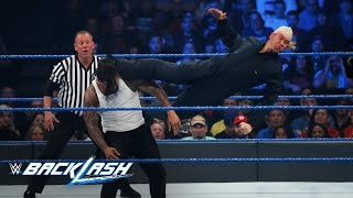 Breezango vs. The Usos - SmackDown Tag Team Title Match: WWE Backlash 2017 (WWE Network Exclusive)