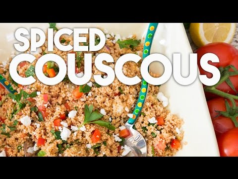 Spiced Couscous - Easy and flavorful recipe