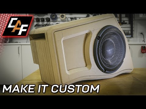 Subwoofer Box Beauty Panel - How to - CarAudioFabrication