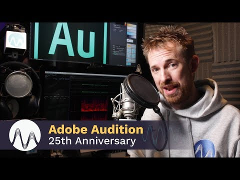 Adobe Audition 25th Anniversary - Message from Mike Russell