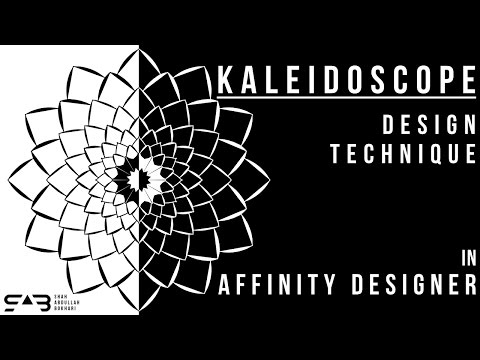 Kaleidoscope Design Technique in Affinity Designer