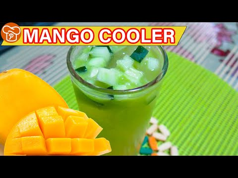 How to Make Mango Cooler - Panlasang Pinoy Easy Recipes