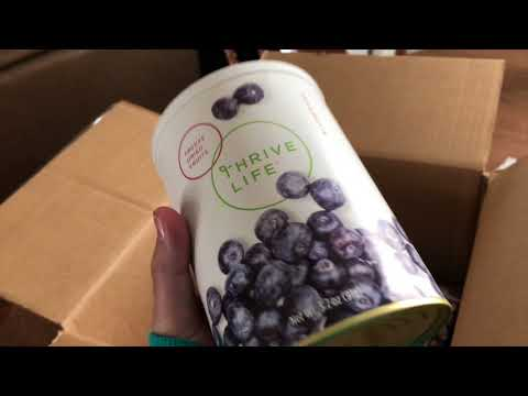 Thrive life unboxing - #projectpantry