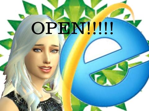 How to open an Internet Explorer Sims 4 CC folder!! #tipswithprincess