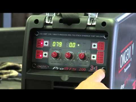 Introducing the Longevity ProMTS 200 MIG / TIG / Arc Welder - Kevin Caron