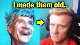 Fortnite YouTubers In 2059! (Old Ninja, Tfue & More)