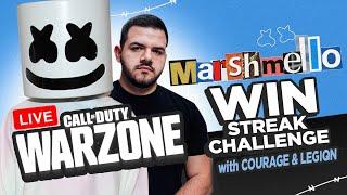 Call of Duty Warzone Win Streak w/ Marshmello, CouRage JD, LEGION & More