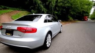 2016 Audi A4 Silver Metallic Model Car
