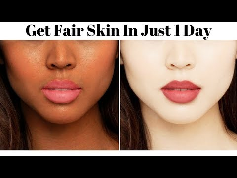 Skin Whitening Treatment | 2 Face Masks To Get Fair Skin In Just 1 Day | Get Fair Skin Naturally