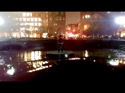 Late Night Dancing in the Rain